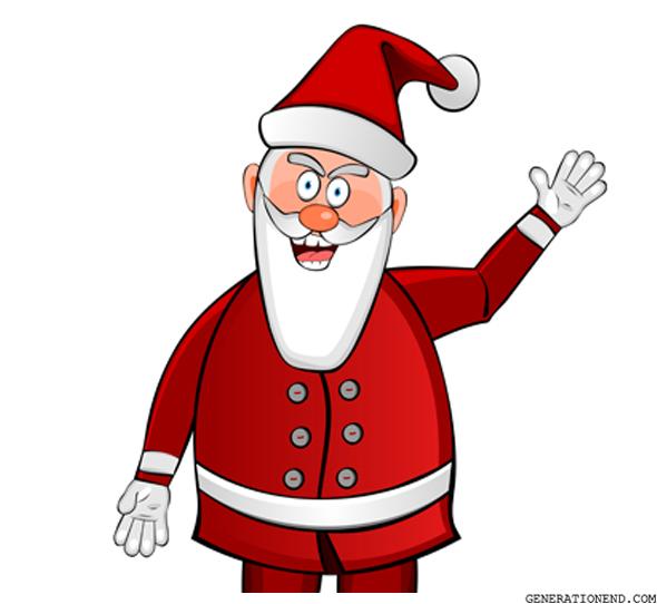 Evil Santa Claus Generation End