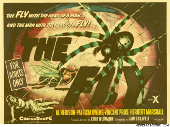 The Fly UK movie poster 1958