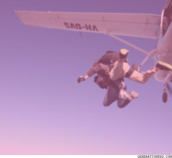 skydiving and falling - short stories