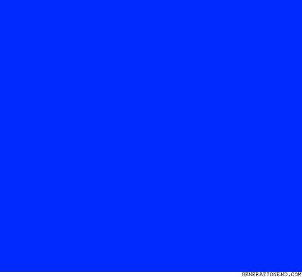try not to be so blue