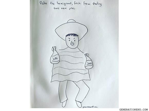 pedro the immigrant