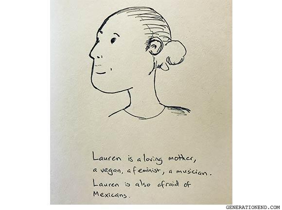 lauren is a loving mother
