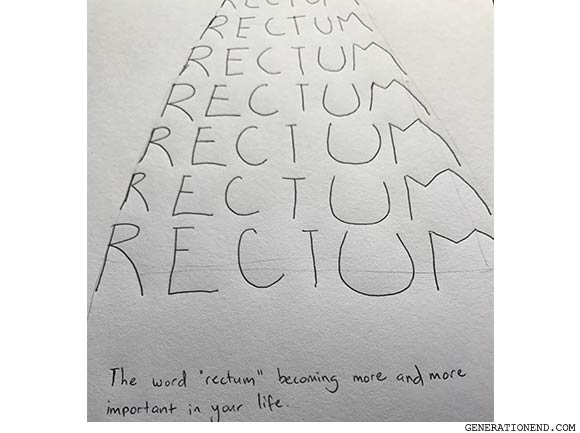 the word rectum
