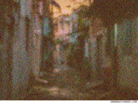 old dark alleyway