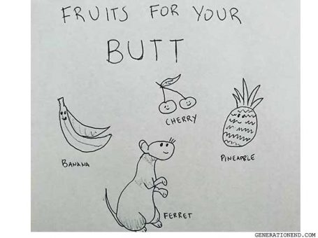 fruits for your butt